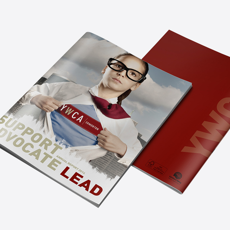 annual report design YWCA